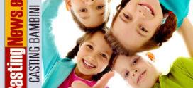 MILANO: Si cercano bambini e bambine tra i 9 e i 12 anni