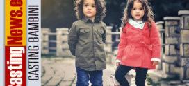 Servizio fotografico: Casting bambini e bambine dai 5 ai 10 anni